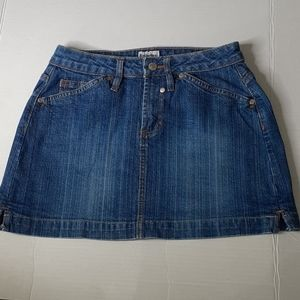 No Boundaries Stretch Jean Skirt Size Junior 3